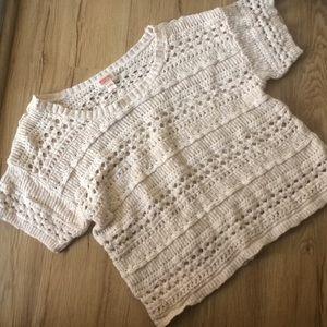 XXL Mossimo supply & co. Yarn blouse